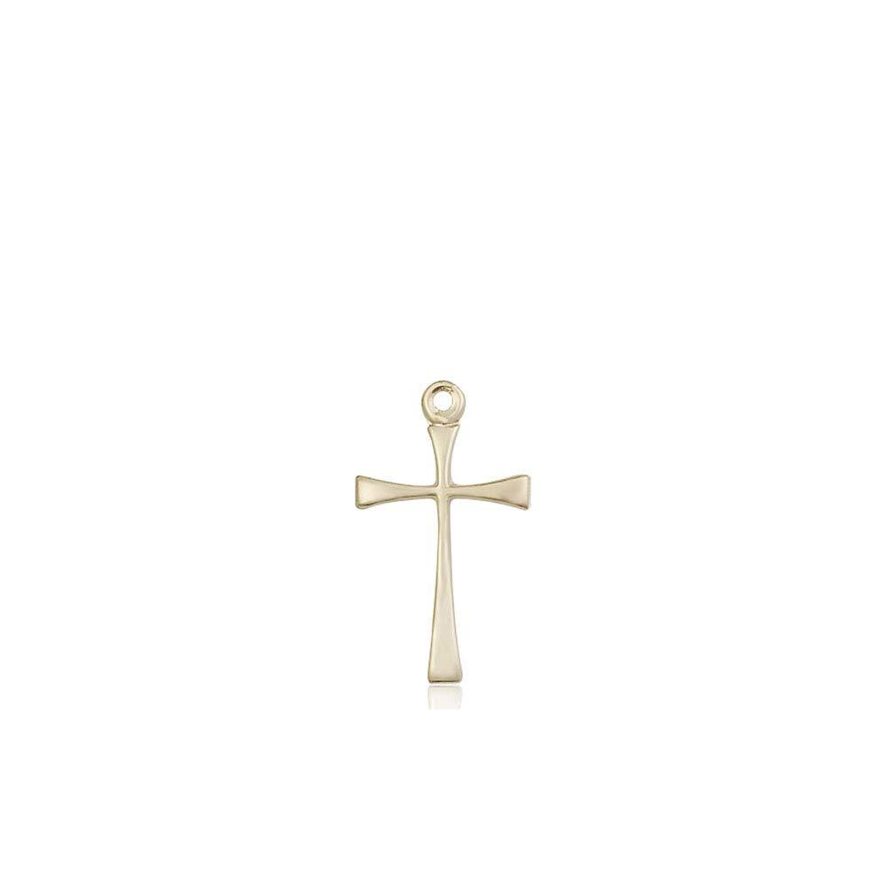 14kt Gold Maltese Cross Medal
