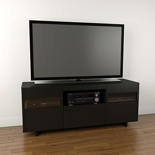 Vision 60-inch TV Stand 101406 from Nexera, Black -