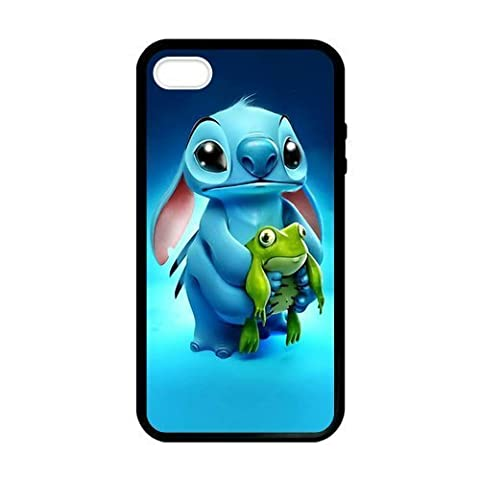 SUUER Custom Lilo And Stitch cartoon Personalized Custom Hard Case for iPhone 4 4s Durable Case (Personalized Iphone 4s Phone Case)