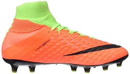 Nike Hypervenom Phantom 3 AG-Pro, Scarpe da Calcio Uomo Verde (Electric Green/Black/Hyper Orange/Volt)