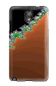 Galaxy Case - Tpu Case Protective For Galaxy Note 3- Artistic Fractal