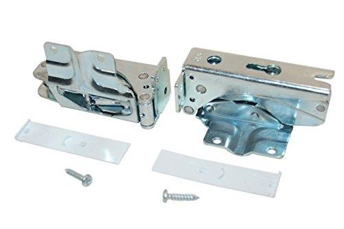 Bosch 00481147 Kühlschrankzubehör / Original Ersatz-Türe 1 Paar für Ihre Kältetechnik / Türscharniere