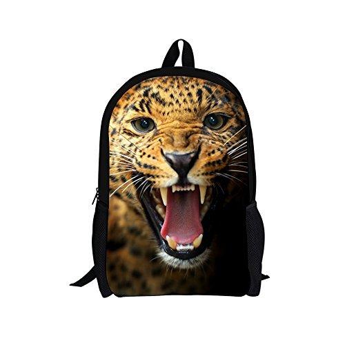 doginthehole Cool Animal Zoo Children School Book Backpacks Age 7 8 9 10 [並行輸入品]   B078WWD1KY