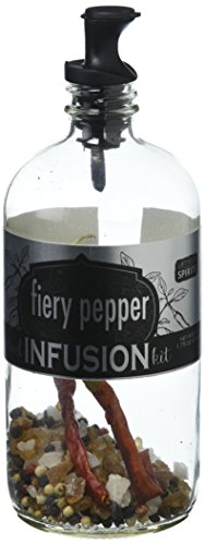 Rokz Design Group Infusion Bottle, Fiery Pepper, 1.75 Ounce (Best Infused Vodka For Bloody Marys)