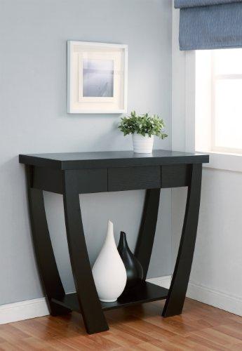 ioHOMES Bond 1-Drawer Console/Sofa Table, Black