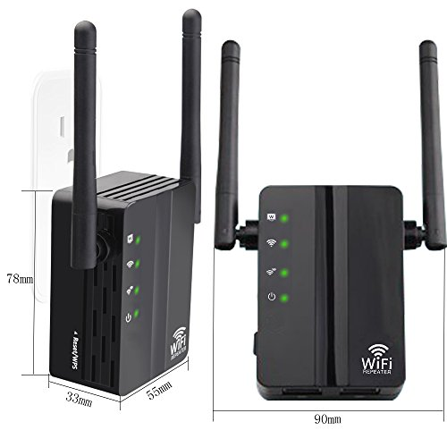 WiFi Range Extender, FiveHome 300Mbps High Speed WiFi Booster with Repeater/Access Point/Router Mode -360 Degree WiFi Signal - Easily Set Up by FiveHome (Image #1)