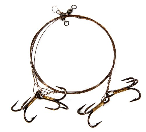 Boone Live Bait Rig 2 # 2 Treble Hook (Pack of ()