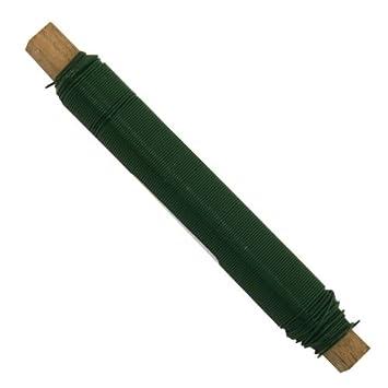 Blumendraht Bindedraht Wickeldraht Basteldraht Ø0,65mm grün: Amazon ...