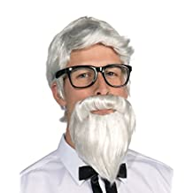 Forum Men's Southern Colonel Wig and Beard