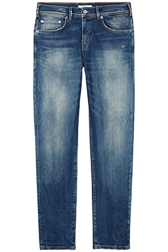 Find Sbiadito Wash Lavaggio Uomo Jeans Blu timor 00xBT7w