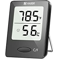 Habor Digital Hygrometer Indoor Thermometer, Humidity...