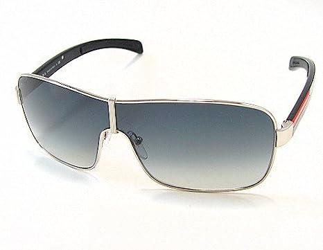 0d1aa8b6a01fd PRADA SPS-52 Sunglasses Black 1AB-1A1 SPS52 Shades  Amazon.co.uk  Clothing