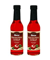 About the Product No High Fructose Corn Syrup Naturally Flavored Great on Ice Cream and in Drinks & Cocktails Recipe for Maraschino Sauce on Label