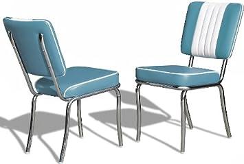 Jahre Küchenstuhl 50er 2 Bürostühle Dinerstuhl Er Esszimmerstuhl Set GUMpqjSVLz