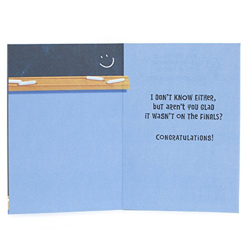 Hallmark Funny Graduation Greeting Card (Graduation Riddle) Photo #4