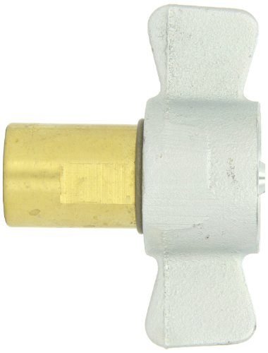 Dixon 78-600 Brass Hydraulic Thread to Connect Fitting, Coupler with Iron Nut, 3/4'' Coupling x 3/4''-14 NPT by Dixon Valve & Coupling (Image #1)