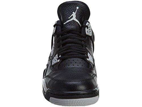 Nike Herren Air Jordan 4 Retro Ls Basketballschuhe, Schwarz Nero, Tech Grigio-nero