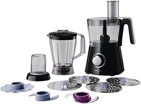 Philips Viva Collection HR7762/92 - Robot de cocina (2,1 L, Negro, 1,75 L, 1 m, 750 W, 220-240 V): Amazon.es: Hogar