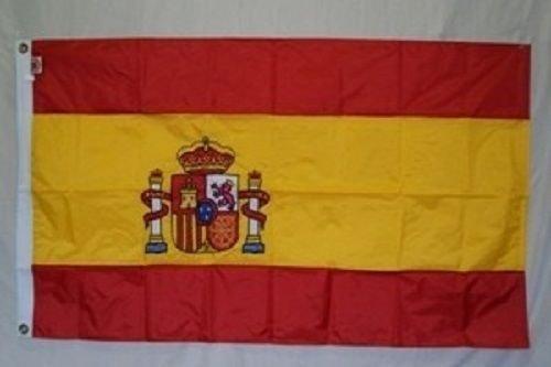 【一部予約販売】 5 x8 x 8刺繍縫製スペインSolarMaxナイロンフラグ5 ' B01N48CQ1Z x8 5 'バナーグロメット B01N48CQ1Z, Deff:b8060537 --- oil.xienttechnologies.net
