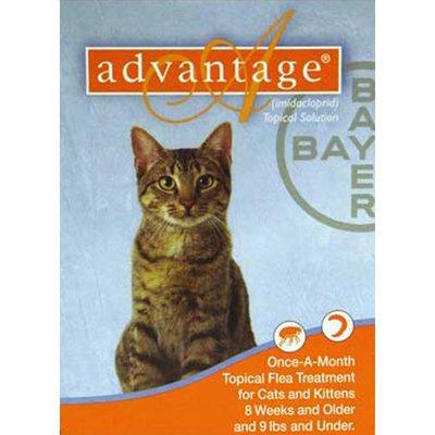 Advantage Flea Medication for Cats 9 lb. and Under – 4 pk., My Pet Supplies