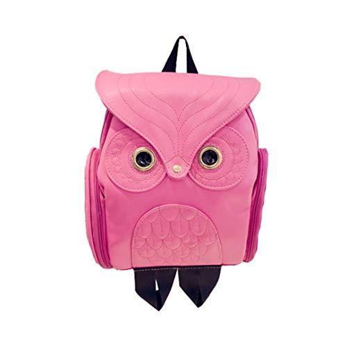 Tote Satchels for Red Crossbody Handbag School Owl for Bag Work Shoulder Rose Girls Cute Backpack Women wuayi Purse Travel Messenger a8wqZB8