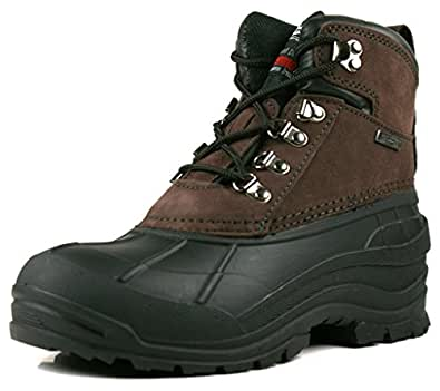 Amazon.com | Own Shoe Mens Leather Waterproof Insulated