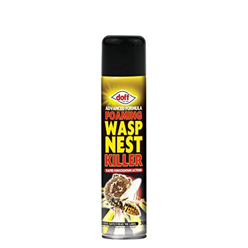 Doff 5 x 300ml Advanced Formula Foaming Wasp Nest Killer destroyer spray foam