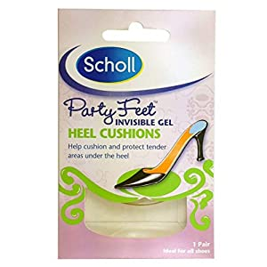 Scholl Party Feet Invisible Gel Heel Cushions 26