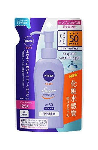Kao Nibeasan protect water Gel SPF50 / PA +++ [refill] (125g)