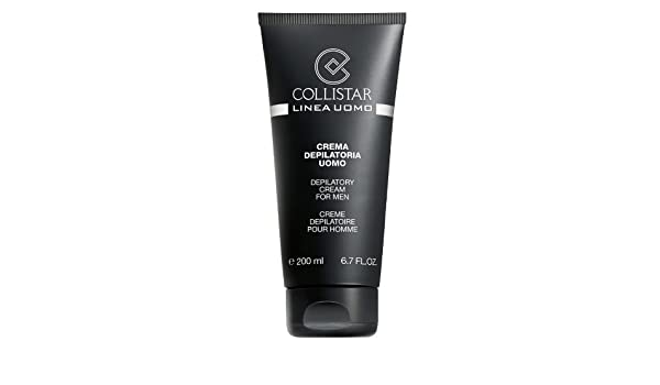 Amazon.com: Collistar Linea Uomo Crema Depilatoria Uomo 200ml by COLLISTAR: Beauty