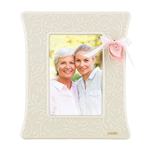 Lenox Gift Of Knowledge 4-Inch by 6-Inch Photo Frame, 6-Inch by 1-Inch by ()