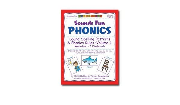 Sounds Fun Phonics Workbook Vol. 1: Heidi Butkus: 9781938553158 ...