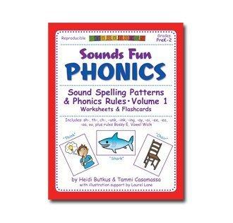 Sounds Fun Phonics Workbook Vol. 1: Heidi Butkus: 9781938553158 ...