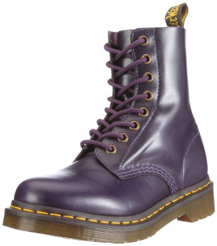 Dr. Martens Pascal, Botas Militares para Mujer Morado (Purple)