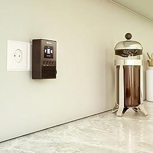 auna digi plug steckdosen internetradio digitalradio wlan radio integrierter. Black Bedroom Furniture Sets. Home Design Ideas