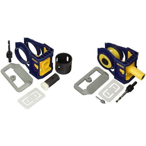 Bi Metal Door Lock Installation (IRWIN Wooden Door Lock Installation Kit and Bi-Metal Door Lock Installation Kit)