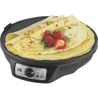 Kalorik CRM 43667 BK Pancake Crepe Maker, Black by Kalorik