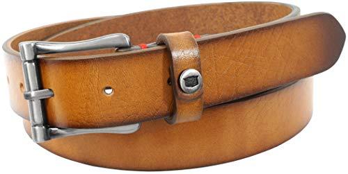 - Florsheim Men's Gilmore Leather Dress Casual 28mm Belt, Tan, 36