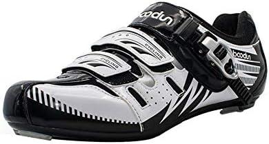 CWXDIAN Zapatillas de Ciclismo para Hombre Mountain Road ...