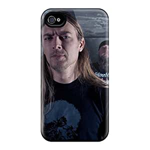 AnnaDubois Iphone 4/4s Protector Hard Cell-phone Cases Customized Beautiful Grave Band Pictures [Zjj5589iwpg]