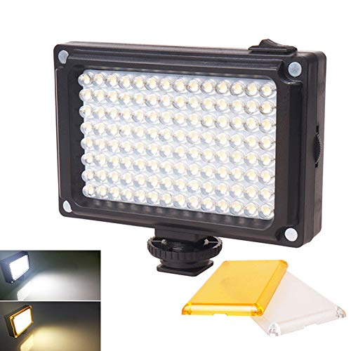 OUYAWEI Rechargable LED Video Light Lamp Photo Studio Weddin