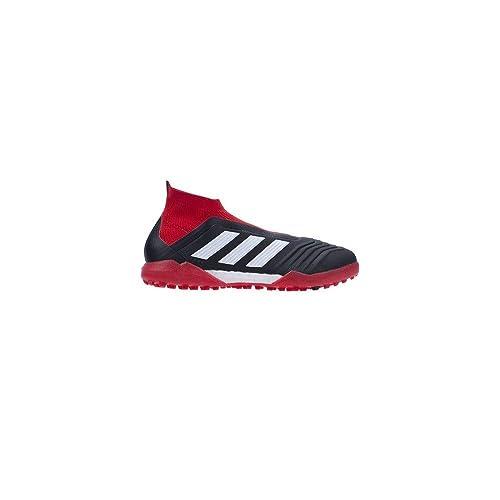 quality design 0c7b0 b3f9b Adidas Predator Tango 18+ Tf, Scarpe da Calcio Uomo, Nero  Cblack Ftwwht Red, 42 2 3 EU  Amazon.it  Scarpe e borse
