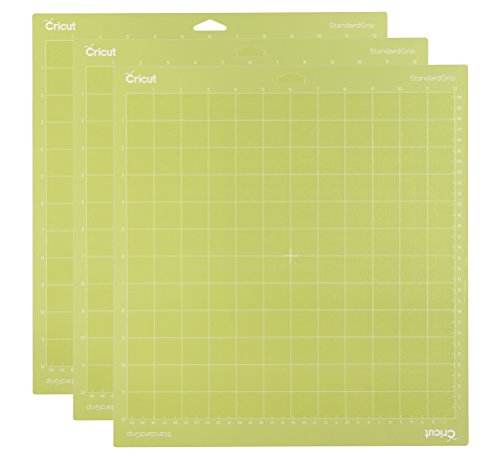 12 Cardstock Multi Pack - Cricut StandardGrip Cutting 12x12 3 Pack