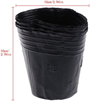 bluederstプラスチック保育園ポット植物苗ポーチホルダー調達バッグホームガーデン供給