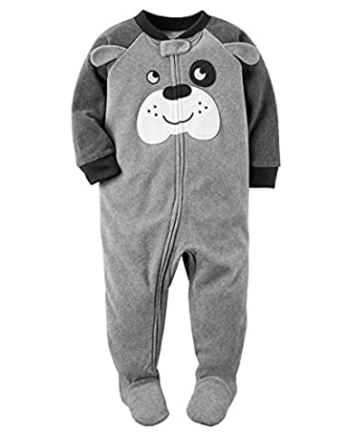 Carters Baby Boys 1 Pc Fleece 327g106 (12 Months, Puppy Love) - Baby Boy Pajamas