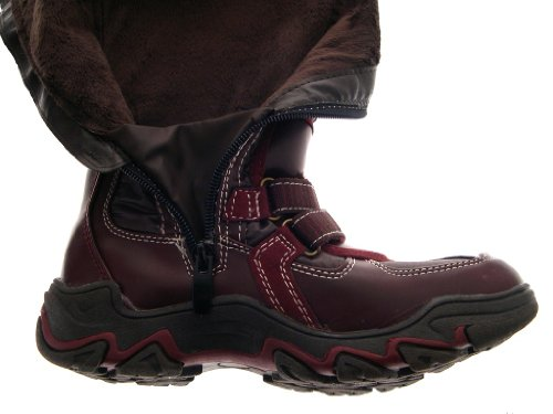 BOOTS WELLINGTON HIGH WOMENS SIZE WELLIES WATERPROOF GIRLS LINED MUCKER ZIP Burgundy UK KNEE KIDS Brown FUR LADIES SNOW 5 1 WARM SKI WINTER PxrwZCx