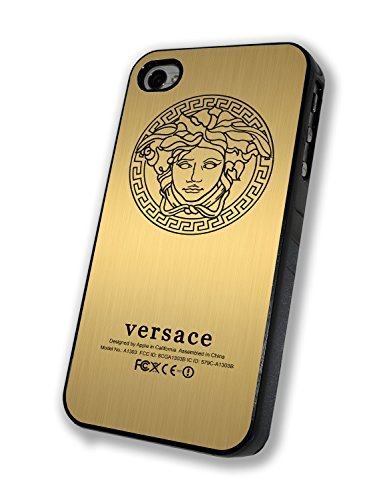 Price comparison product image Versace Gold Personalized Iphone Case - Iphone 4/4s, Iphone 5/5s/5c, Iphone 6/6s/6+ (iphone 6s black)