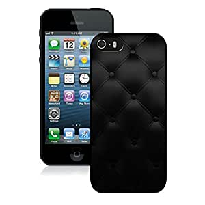 iPhone 5S Sofa Black Texture Pattern Black Screen Phone Case Lovely and Popular Design