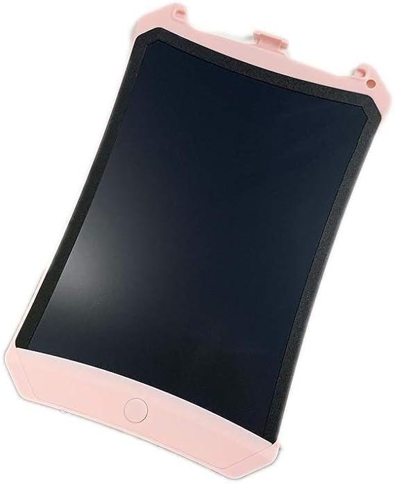 子供の大人のためのLCDライティングタブレット8.5インチの落書きライティングボード手書き描画グラフィック ペン&タッチ マンガ・イラスト制作用モデル (Color : Pink)