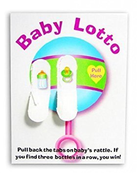 Baby Shower Lotto Game Cards Pack of 24